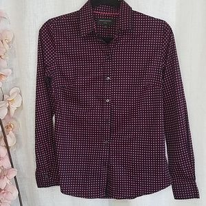 Banana republic non-iron button down shirt sz 2